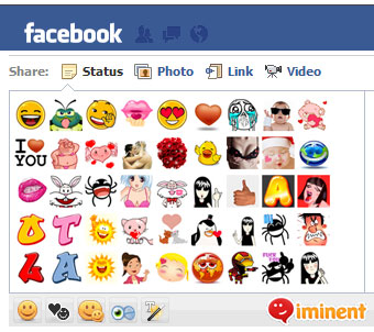 New Facebook Smileys